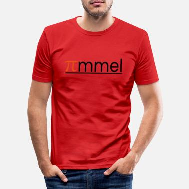 Pi Pi-mmel - Männer Slim Fit T-Shirt