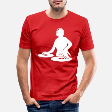 Dj DJ - Men's Slim Fit T-Shirt