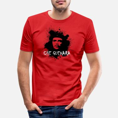Che Guevara Che Guevara Splatter - Men's Slim Fit T-Shirt