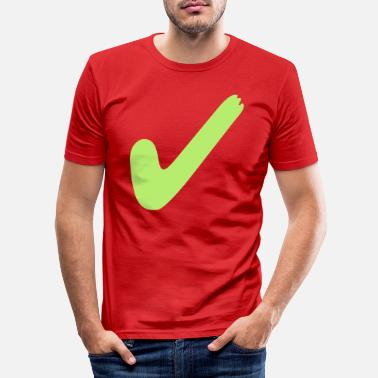 Right right - Men's Slim Fit T-Shirt