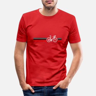 Radsport Rennrad Radsport Retro - Männer Slim Fit T-Shirt