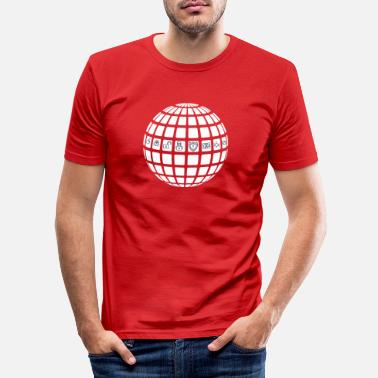 Web Pirate Web - T-shirt moulant Homme