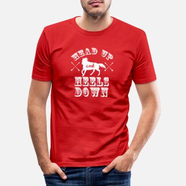 Show Jumping Horses riding design equine saying - Men's Slim Fit T-Shirt