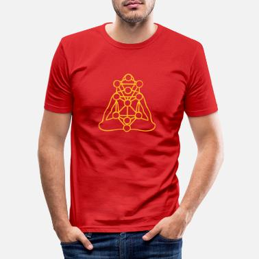 Tree of Life - Mannen slim fit T-shirt