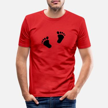 Baby Feet Baby feet - Men's Slim Fit T-Shirt