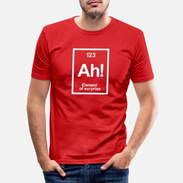 Periodic Table periodic table - Men's Slim Fit T-Shirt
