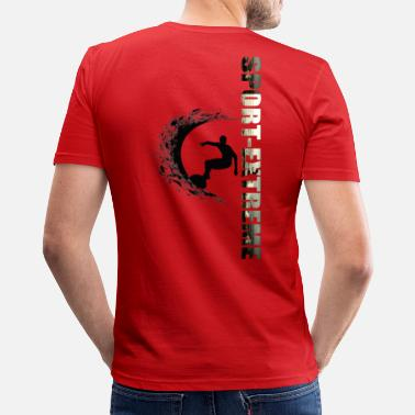 Sports EXTREME SPORT - Men's Slim Fit T-Shirt