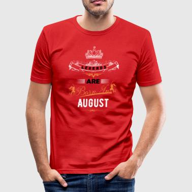 august - Slim Fit T-skjorte for menn