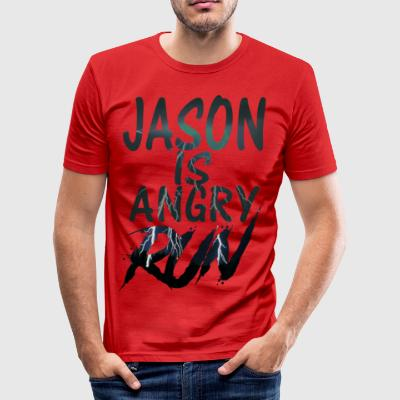 Jason - Männer Slim Fit T-Shirt