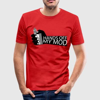 Hands Off - Mijn Mod - Vaper Shirt - slim fit T-shirt