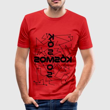 kosmos blak - Men's Slim Fit T-Shirt
