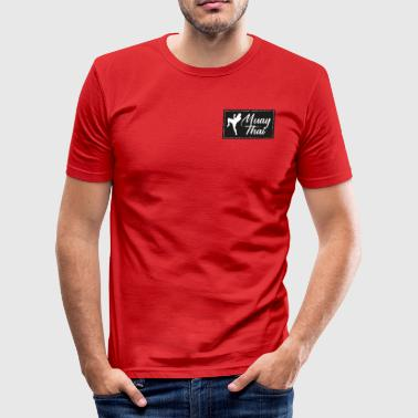 Muay Thai Patch - Tee shirt près du corps Homme