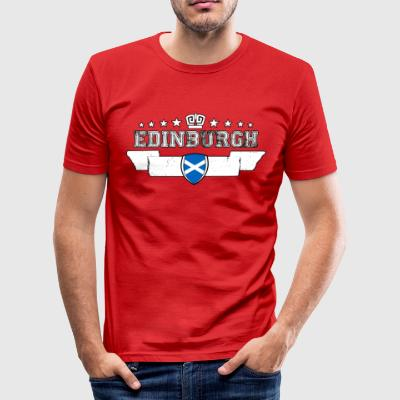 edinburgh - Slim Fit T-shirt herr