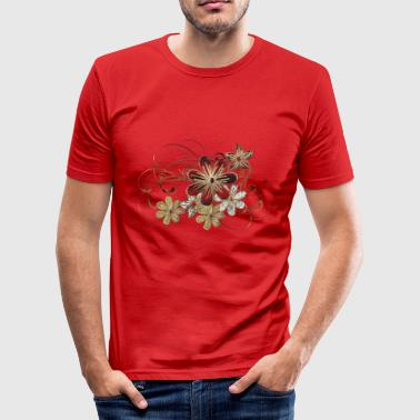 Blumendecor - Slim Fit T-skjorte for menn
