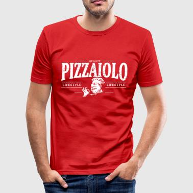 pizzaiolo - Männer Slim Fit T-Shirt