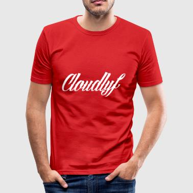 cloudlife_logo_sam_adams - Herre Slim Fit T-Shirt