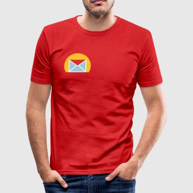 Letter - Men's Slim Fit T-Shirt