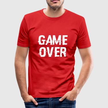 Game Over - Slim Fit T-shirt herr
