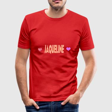 Jaqueline - Männer Slim Fit T-Shirt