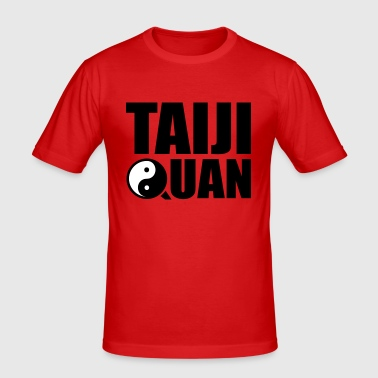 Taiji Quan  Yin Yang  Tai Chi - Men's Slim Fit T-Shirt