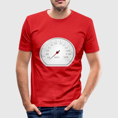 speedometer - Men's Slim Fit T-Shirt