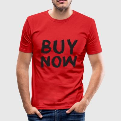 Buy Now - Männer Slim Fit T-Shirt