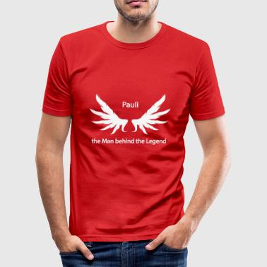 Pauli mannen bakom legenden - Slim Fit T-shirt herr