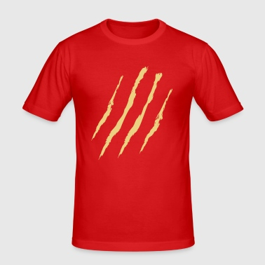 claw marks - Men's Slim Fit T-Shirt