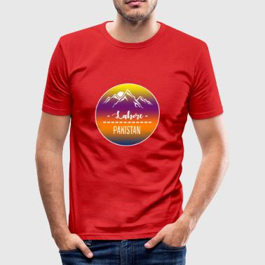 Lahore Pakistan - Männer Slim Fit T-Shirt