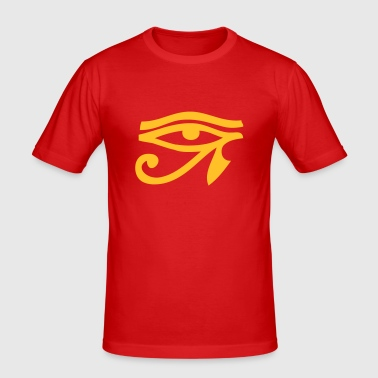 Eye Of Horus / Auge des Horus - Männer Slim Fit T-Shirt