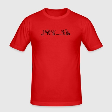 hieroglyphics - Men's Slim Fit T-Shirt