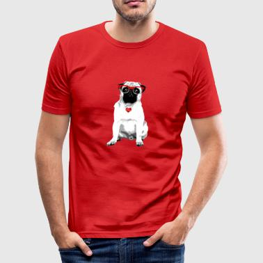 Pug leven - slim fit T-shirt