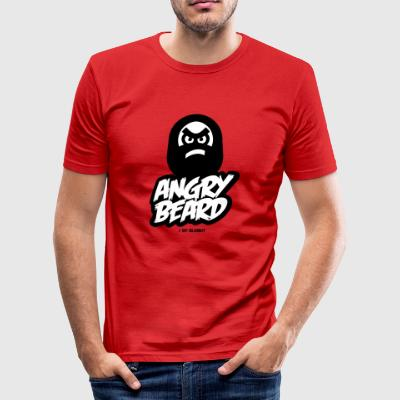 BARBE ANGRY - Tee shirt près du corps Homme