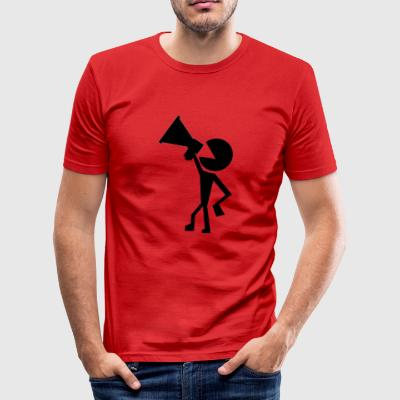 protester - Men's Slim Fit T-Shirt