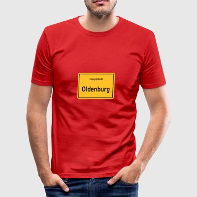 capital de Oldenburg - Camiseta ajustada hombre