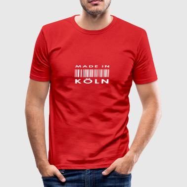 Köln - Slim Fit T-skjorte for menn