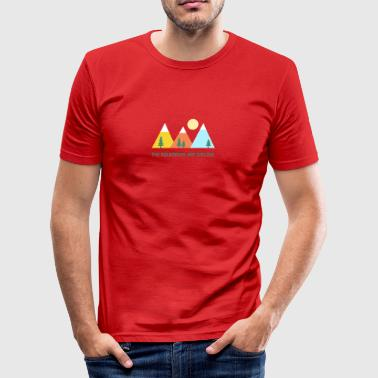 Wanderlust - Men's Slim Fit T-Shirt