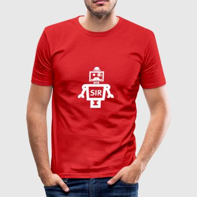 SIR Smart-Artikel Robotics - Männer Slim Fit T-Shirt