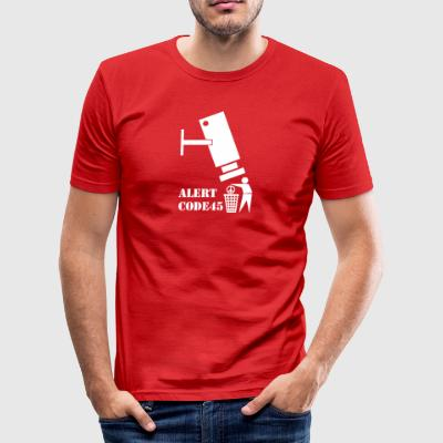 privacy wite - slim fit T-shirt