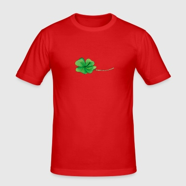 Good luck Clover - Slim Fit T-shirt herr
