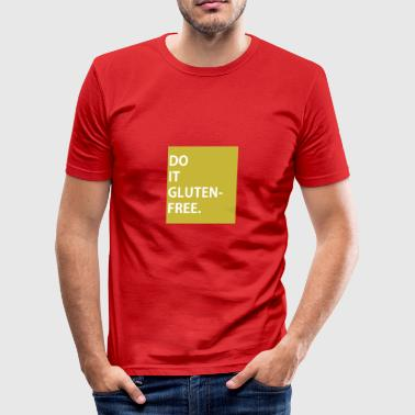 DO IT glutenfri - KAMPAGNE T-SHIRT - Herre Slim Fit T-Shirt