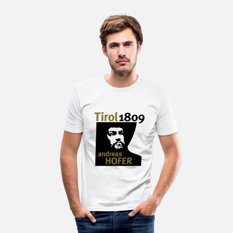 1809 · Mannen ShirtSpreadshirt Andreas Slim T Tirol Hofer Fit n08kPXwON