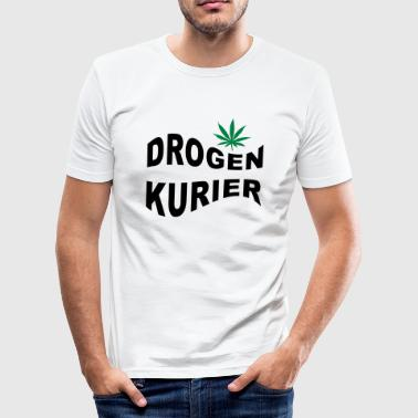 drogen - Männer Slim Fit T-Shirt