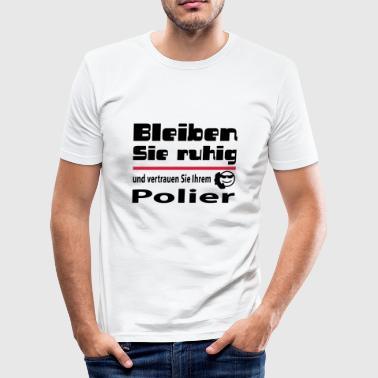 polier - Männer Slim Fit T-Shirt