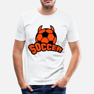 Soccer - Männer Slim Fit T-Shirt