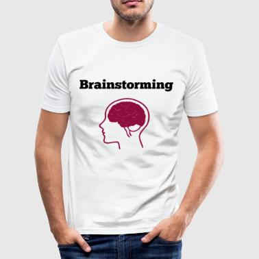 Brainstorming brainstorming - Men's Slim Fit T-Shirt
