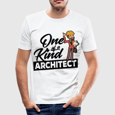 Proud Architect - One of a kind - Men's Slim Fit T-Shirt