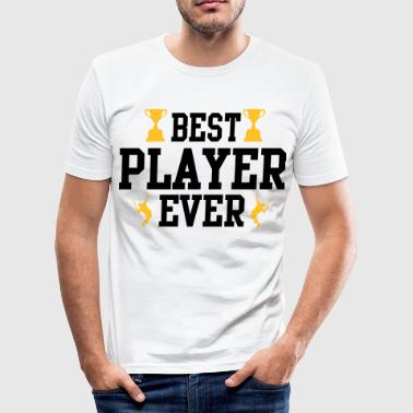 Tennis - best player ever - Männer Slim Fit T-Shirt
