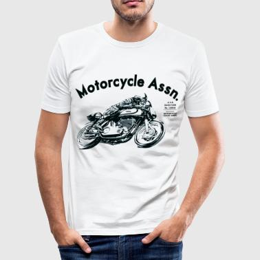 motorcycle  shirt - Men's Slim Fit T-Shirt