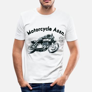 Royal Enfield motorcycle  shirt - Men's Slim Fit T-Shirt